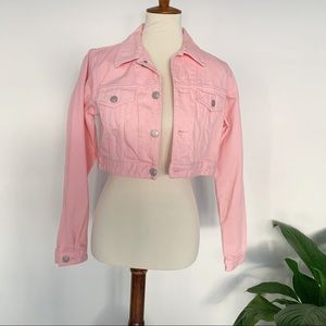 Aritzia Cropped Denim jacket size XS